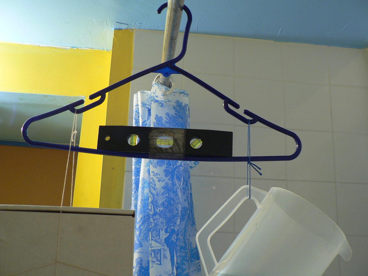Coat hanger scale for Coat hanger art projects